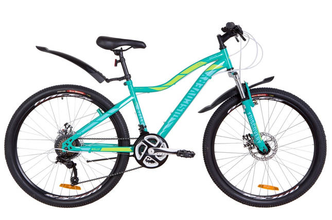 "Горный велосипед 26"" Discovery KELLY DD 2019 (зеленый), фото 2"