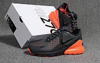 Кроссовки мужские Nike Air Max Flair 270 Grey Orange