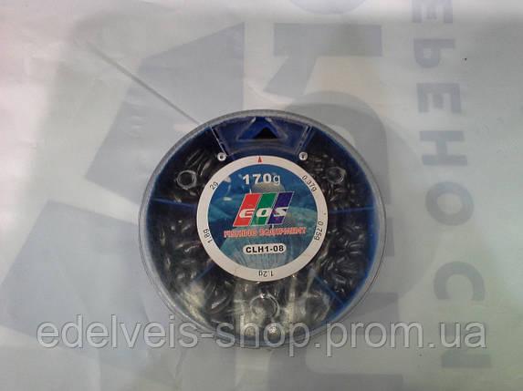 Грузики набор дробь разрезная EOS 170 грамм( хороший свинец), фото 2