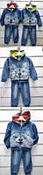 Джинсовый костюм-двойка для мальчиков Setty Koop оптом, 1-5 лет.