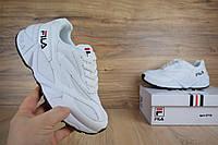 Женские кроссовки в стиле Fila Venom ,белые, фото 1