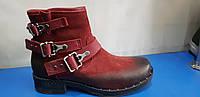 Женские кожаные ботинки Mario Muzi