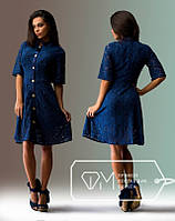 Гипюровое платье крр742, фото 1