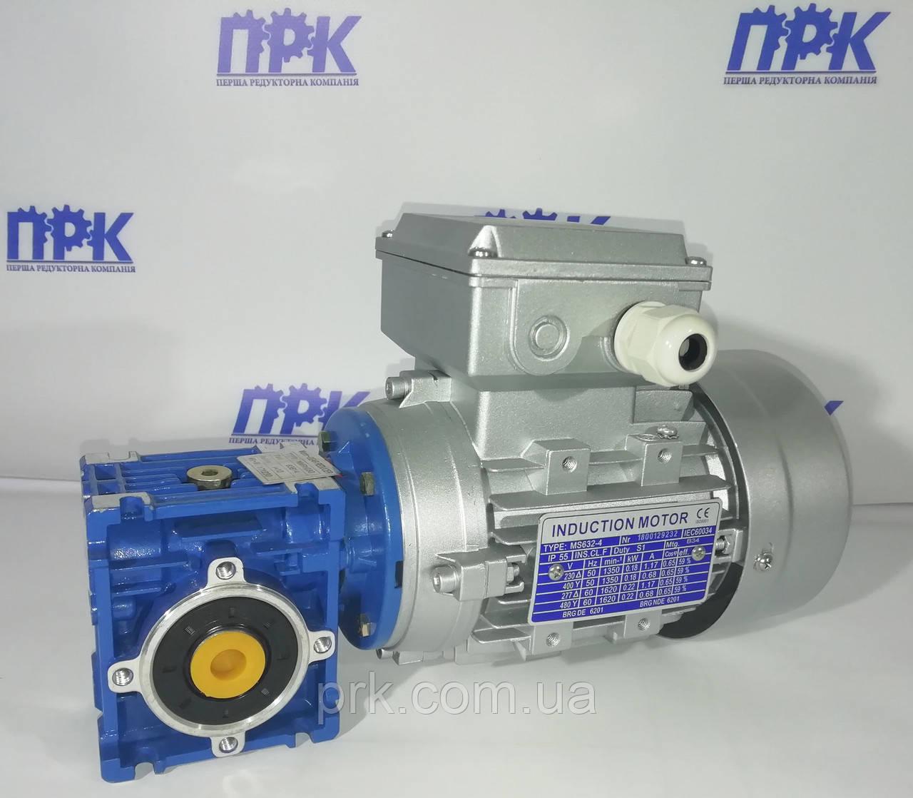 Мотор-редуктор червячный одноступенчатый NMRV 030