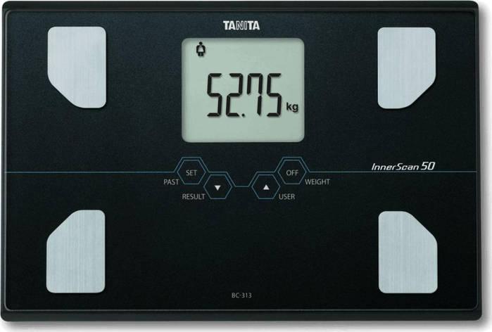 Смарт-ваги / Аналізатор Tanita BC-313 Black, фото 2