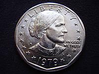 """1 доллар 1979 года """"Сьюзен Энтони."""", фото 1"""