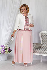 Платье женское Беларусь модель Н-2156 пудра