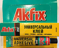 Универсальный клей Akfix 202 50 гр, фото 1
