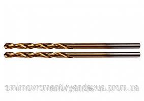 Свердла по металу титанові YATO : HSS-TIN, Ø= 3.0 мм, l= 61/33 мм, 2 шт