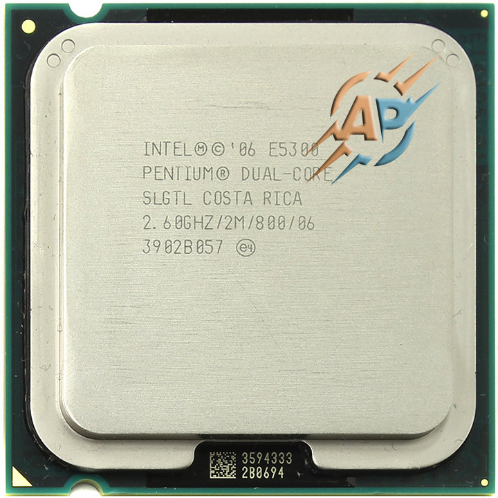 Процессор Intel Pentium E5300 (2M Cache, 2.60 GHz, 800 MHz FSB) LGA775