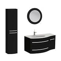 Комплект мебели Vanessa 110 черная