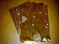 Пакетик прозрачный-зеркальный-14,5х10