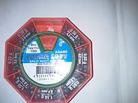 Грузики набор дробь разрезная ADAMS 100 грамм( хороший свинец)