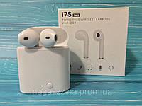 Наушники беспроводные BLUETOOTH EARPHONE i7S TWS с боксом оптом