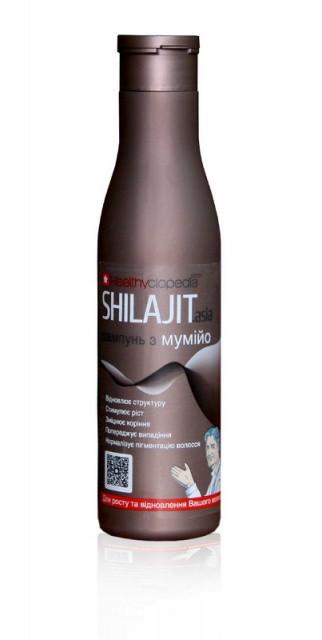 Шампунь с мумиё SHILAJIT.asia восстановление и укрепление 250 мл Healthyclopedia