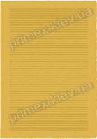 Ковер для дома Opal Cosy structure борозды цвет желтый