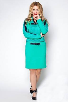 Платье Батал Вязка 26/259, фото 2