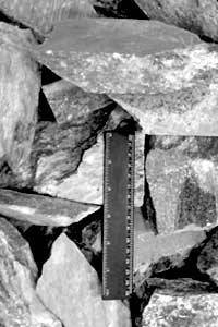 Камни для бани талькохлорит колотый Карелия, фото 2