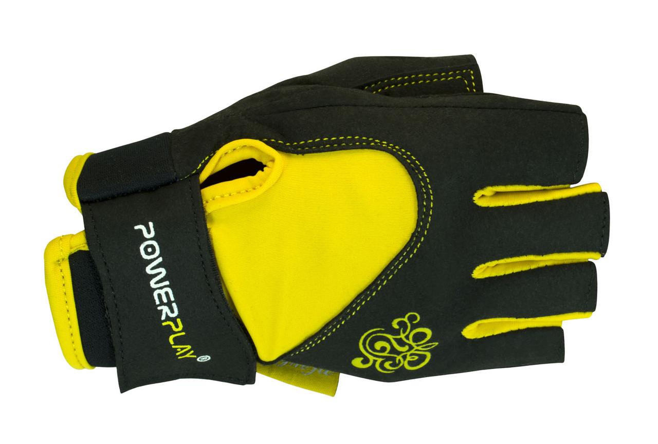 Перчатки для фитнеса PowerPlay 1728-D женские размер S