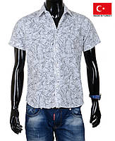Модные мужские рубашки с коротким рукавом.