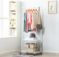 Складная стойка стеллаж для одежды