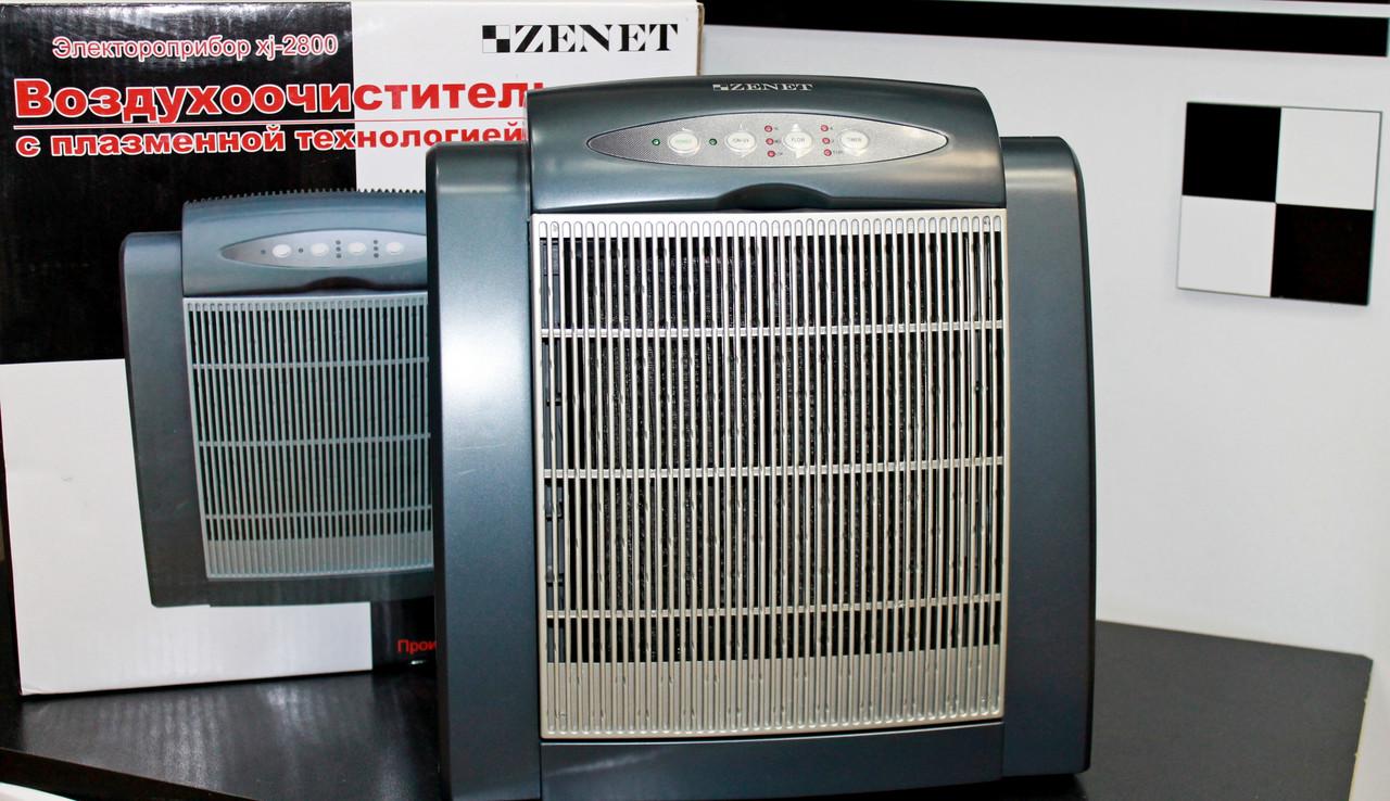 Воздухоочиститель с ионизацией  ZENET XJ-2800 - МЕДТЕХНИКА  ТМ ZENET- Товары для здоровья в Днепре