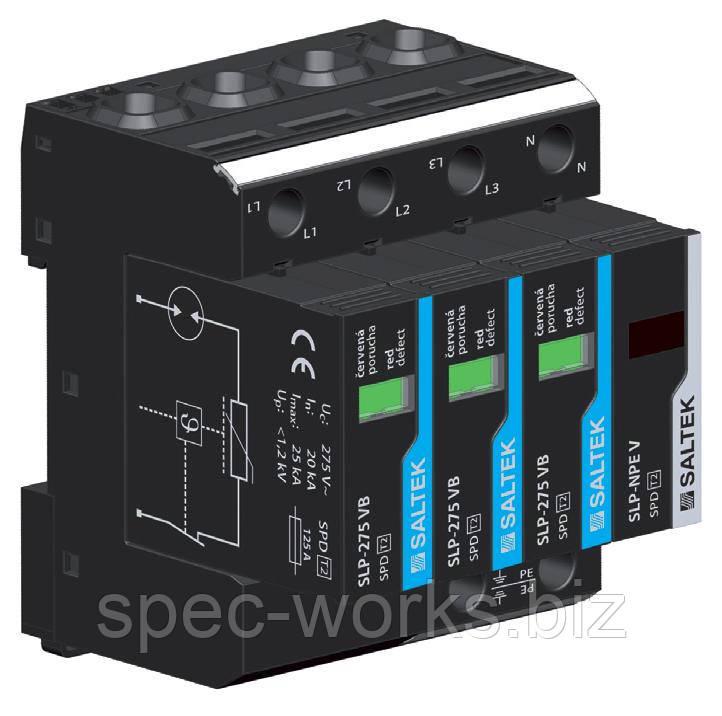 Ограничитель перенапряжения УЗИП SALTEK SLP-275 VB/3+1