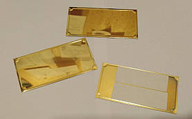 Жетоны (таблички) на медали и кубки ( размер 80х40мм)