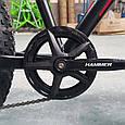 """Fat Bike Горный Велосипеды  S800 HAMMER EXTRIME"""" Колёса 24''х4,0. Алюминиевая рама 14'' Япония Shimano. Черно-Красный, фото 6"""