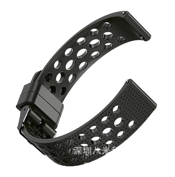 Ремешок Breathable Fashion для Xiaomi AMAZFIT Pace / Stratos / 22 мм Black (Черный)