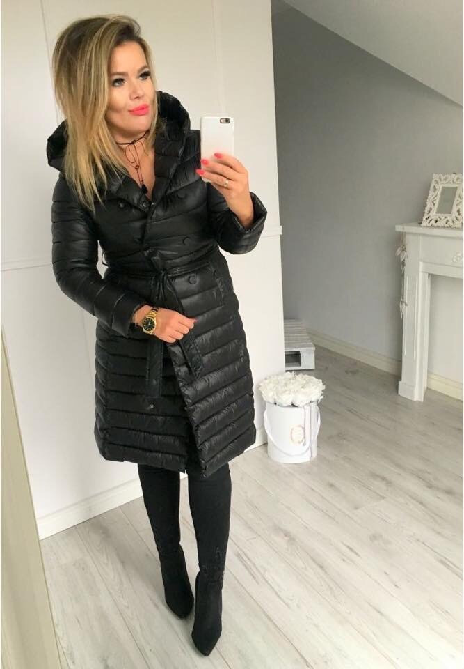 Пальто плащевка