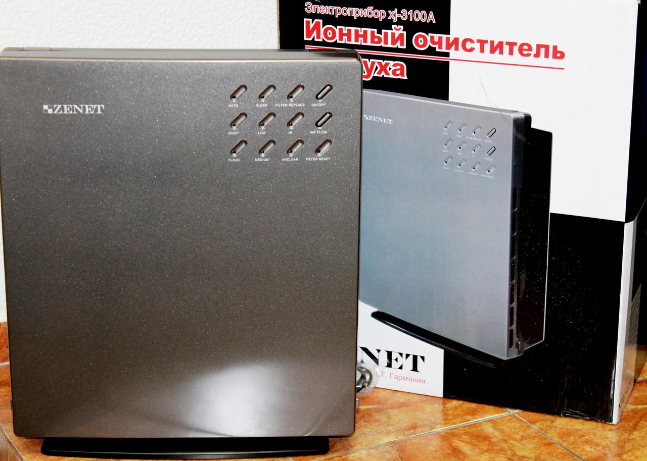 Воздухоочиститель с ионизацией  ZENET XJ-3100А, фото 1