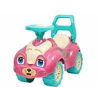 Детский толокар каталка.Детская машинка каталка толокар для прогулок.Каталка автомобиль.