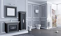 Комплект мебели Treviso 80 черный/серебро