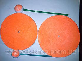 Кружок рыболовный пенопластовый на щуку диаметр 13, фото 3