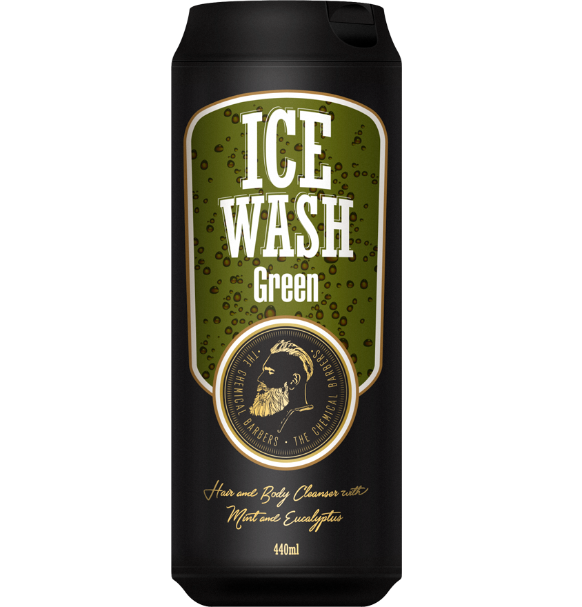 Тонизирующий гель для душа с мятой и эвкалиптом Ice Wash Green