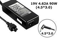 зарядное устройство сетевой адаптер для ноутбука HP 19V 4.62A 90W штекер 4.5*3.0