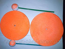 Кружок рыболовный пенопластовый на щуку диаметр 15см, фото 3
