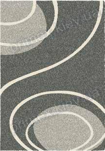 Ковер для дома Opal Cosy structure завиток цвет серый