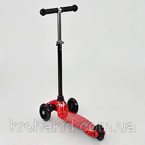 СамокатBest ScooterMini1403 Графический рисунок (Черно-красный), фото 2