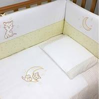 """Постельное белье для новорожденных """"Little Cat""""  Верес™  , фото 1"""