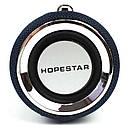 Портативная акустическая Bluetooth колонка Hopestar H39 влагостойкая черная - 140089, фото 6