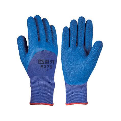 Перчатки рабочие стрейчевая покрытая вспененным латексом