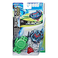 Бейблейд Вондер Волтраєк Beyblade Burst Turbo Slingshock Starter Pack Wonder Valyryek V4 Top and Launcher