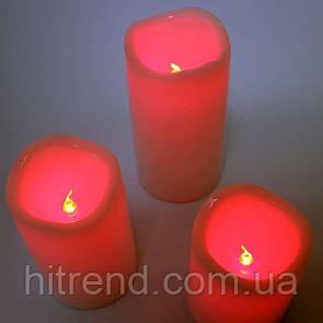 Светодиодные Led свечи Set of 3 Candles с пультом - R139510