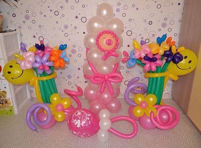 Доставка и  оформление воздушными шарами
