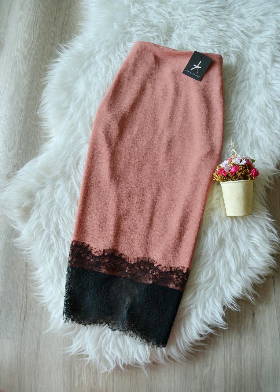 Новая миди юбка с кружевом Atmosphere