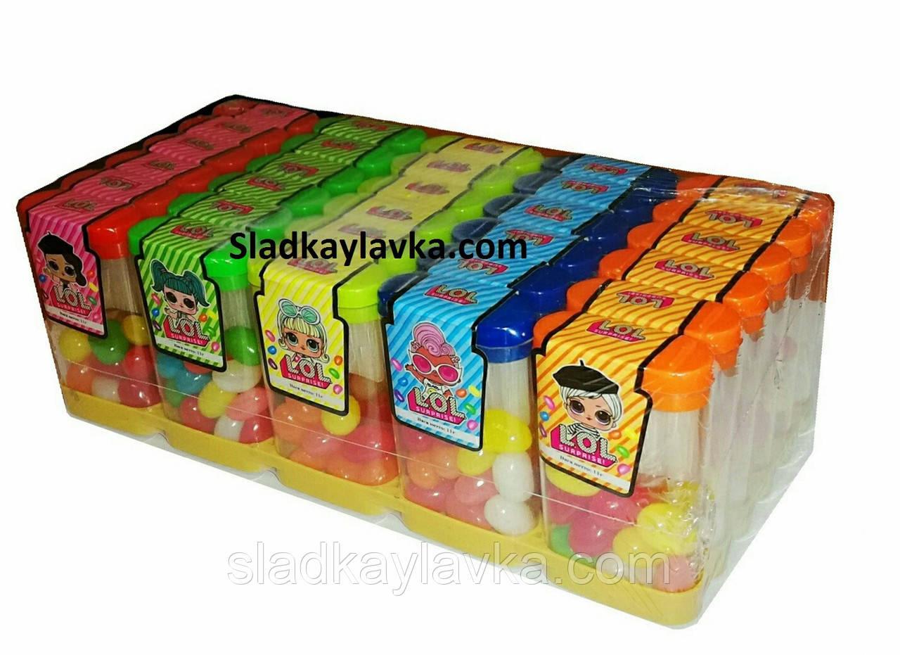 Драже фруктовое желейное LOL 30 шт (Китай)