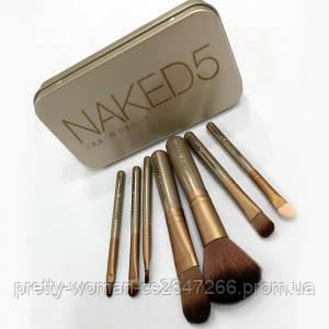 Набор кистей Naked 5 (Реплика)