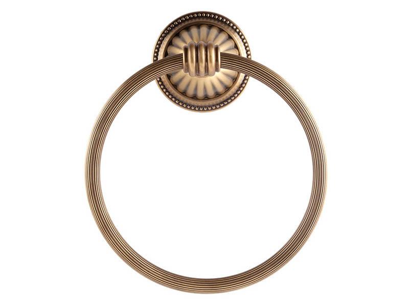 Кольцо для полотенца KUGU Hestia antique бронза